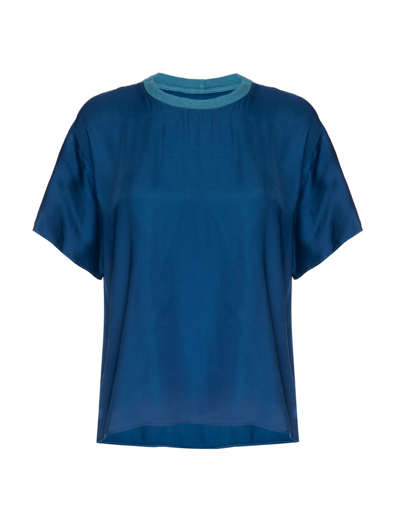 Nation LTD Allison Top in Azure