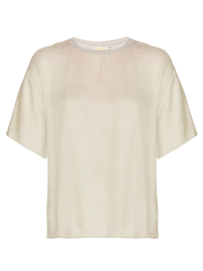 Nation LTD Allison Top in Champagne