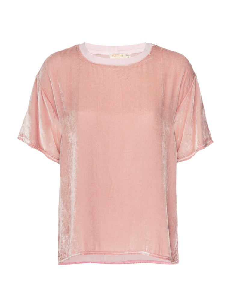 Nation LTD Allison Top in French Pink
