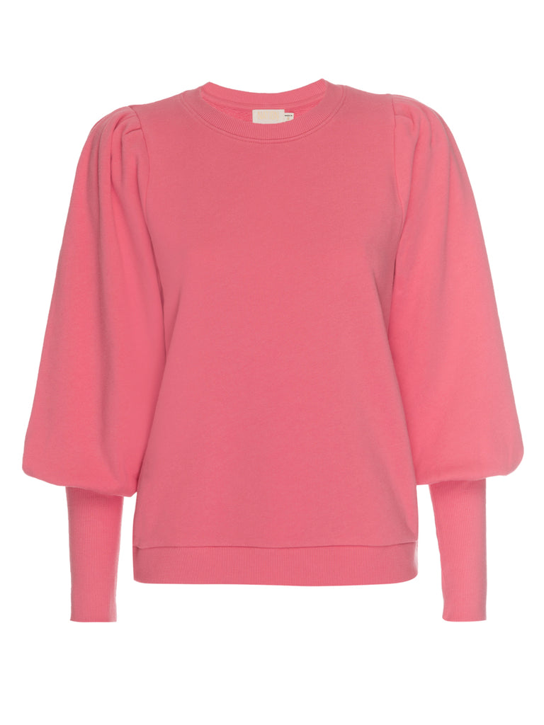 Nation LTD Bethany Sweatshirt in Flamingo