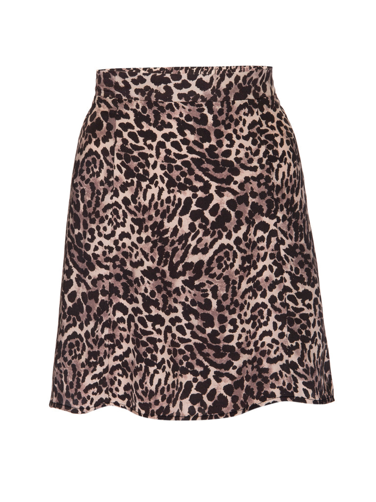 Nation LTD Birdie Skirt in Safari