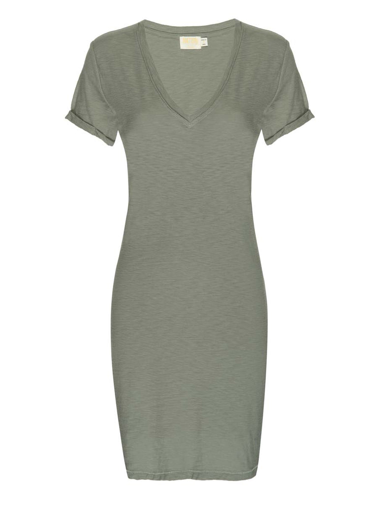 Nation LTD Blair Dress in Dirty Martini