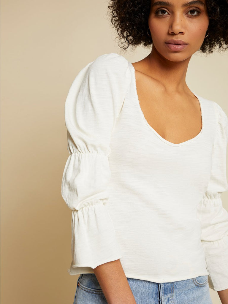 Nation LTD Cassandra Top in Off White