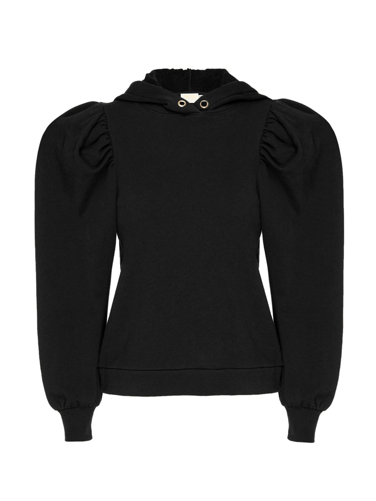 Nation LTD Davina Sweatshirt in Jet Black