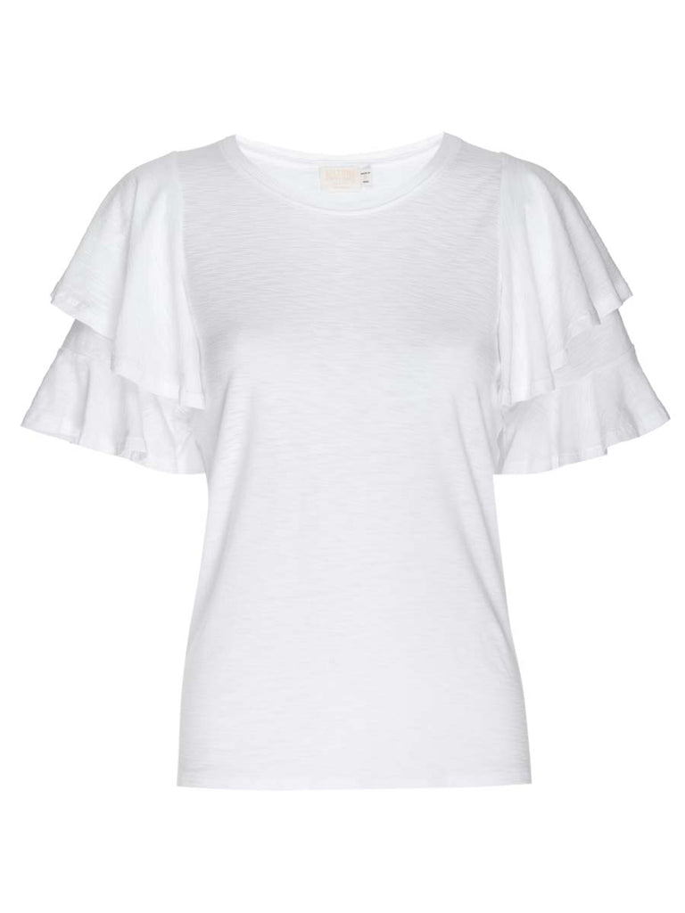 Nation LTD Etta Tee in White