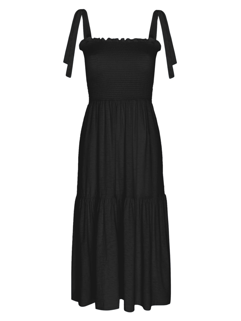 Nation LTD Farin Dress in Jet Black