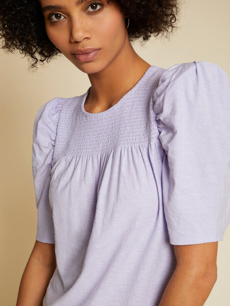 Nation LTD Fiona Tee in Violet Whisper