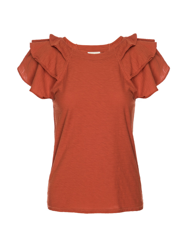 Nation LTD Francine Tee in Paprika