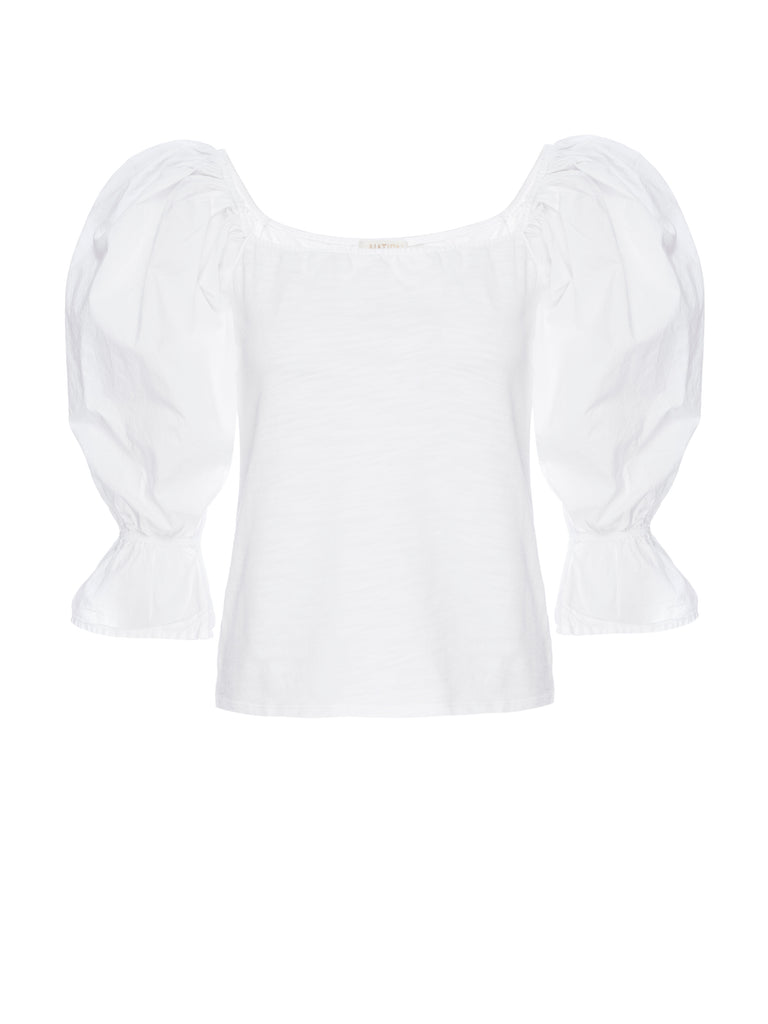 Nation LTD Frida Top in Optic White