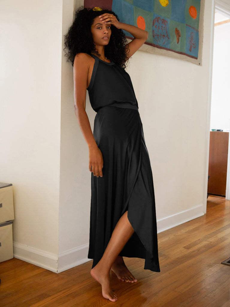 Nation LTD Giorgia Skirt in Black