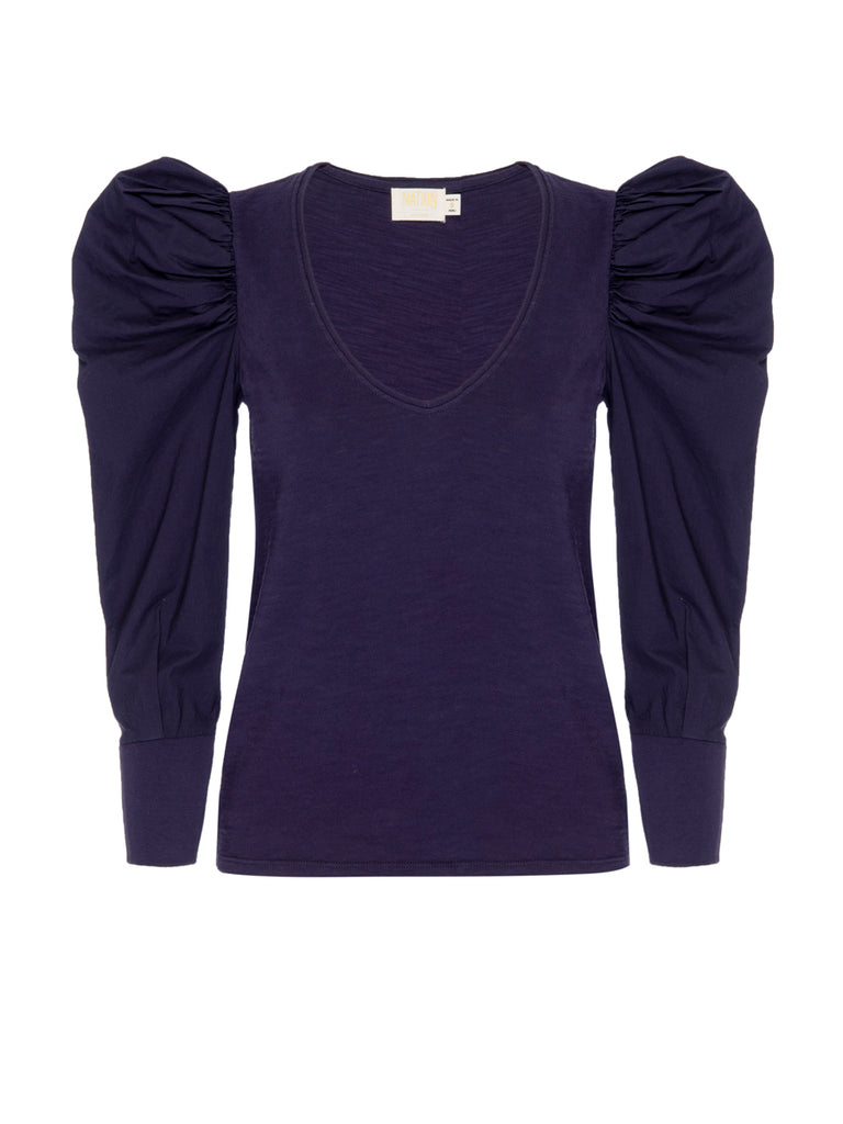 Nation LTD Jenna Top in Boysenberry