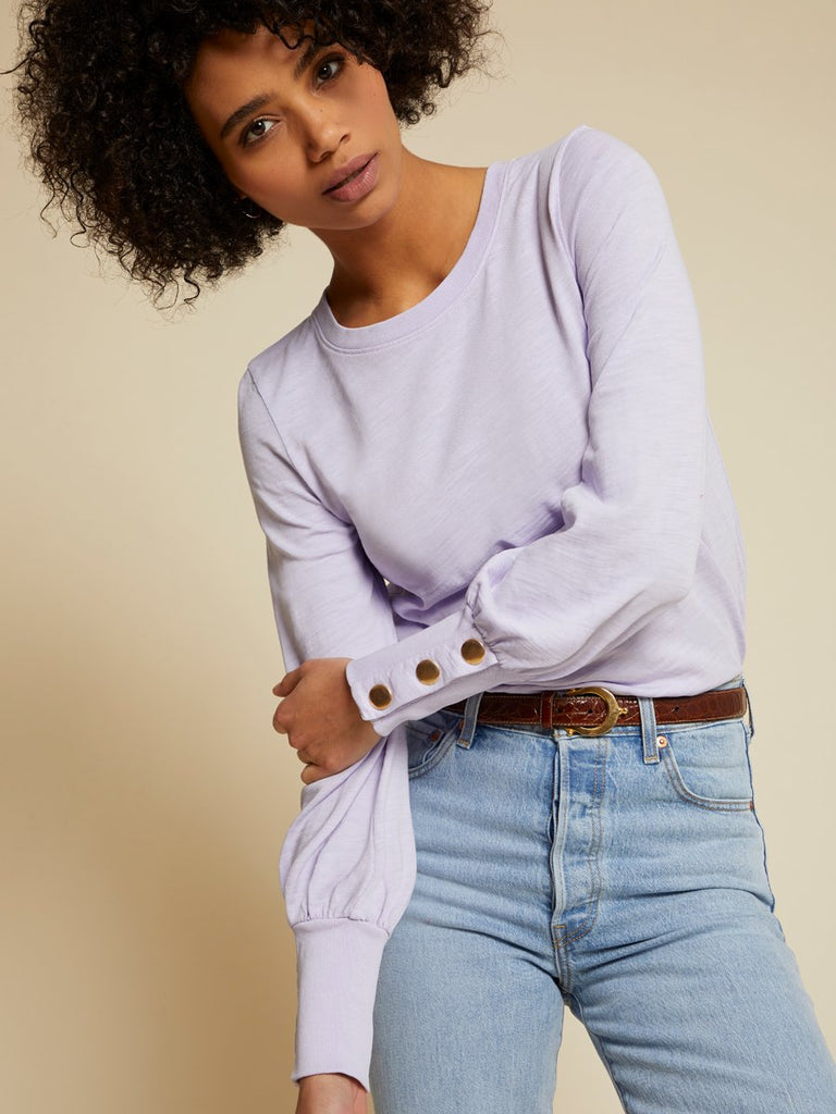 Nation LTD Johnnie Top in Violet Whisper