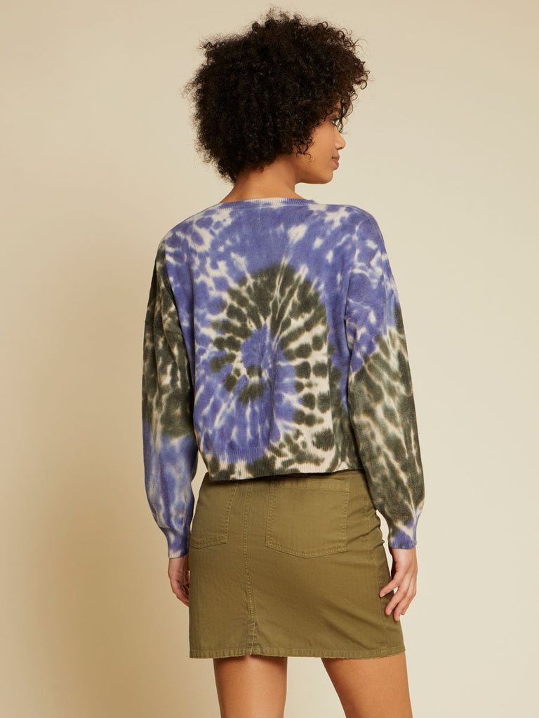 Nation LTD Jolie Sweater in Earth Tie Dye