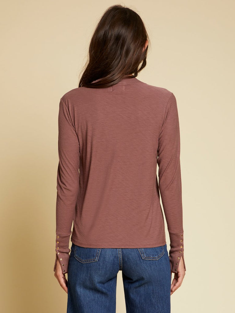 Nation LTD Joni Long Sleeve in Desert Mauve