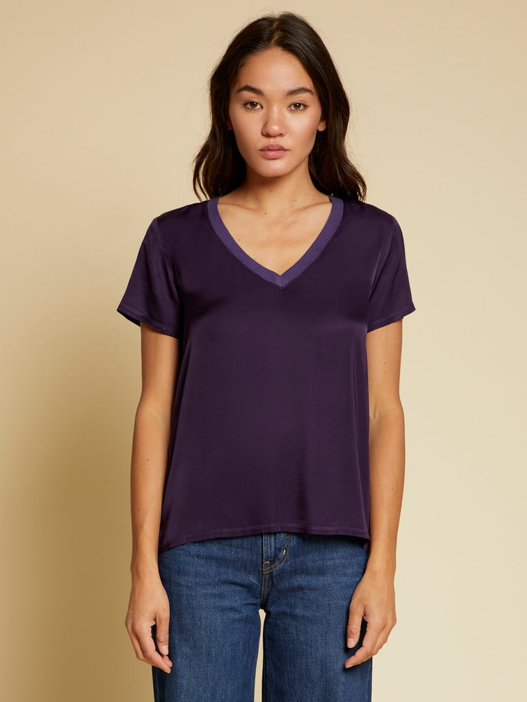 Nation LTD June Top in Amethyst