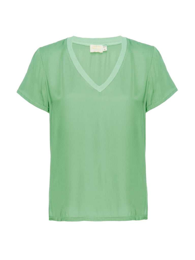Nation LTD June Top in Electric Lime