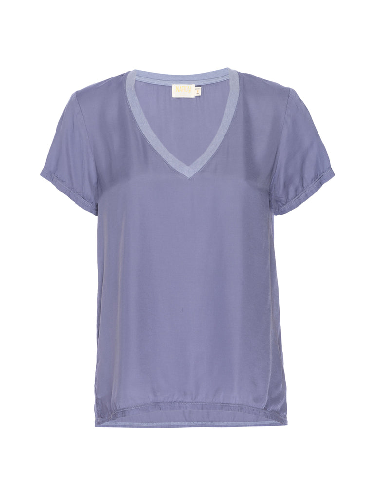 Nation LTD June Top in Purple Sage