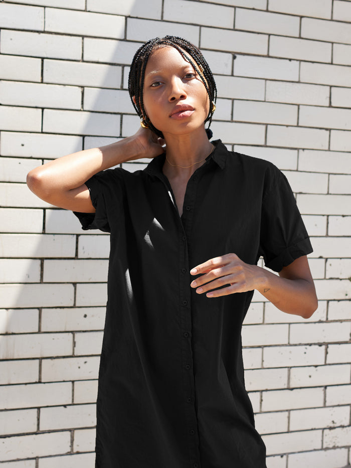 Nation LTD Lena Dress in Jet Black