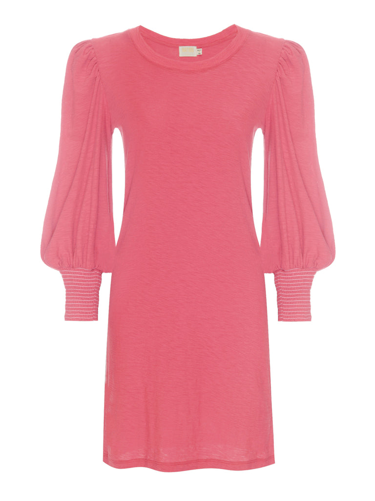 Nation LTD Loren Dress in Flamingo