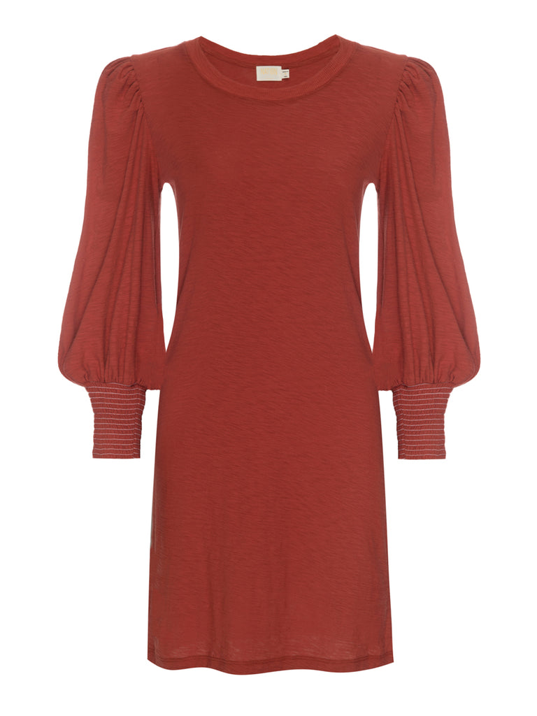 Nation LTD Loren Dress in Vintage Red