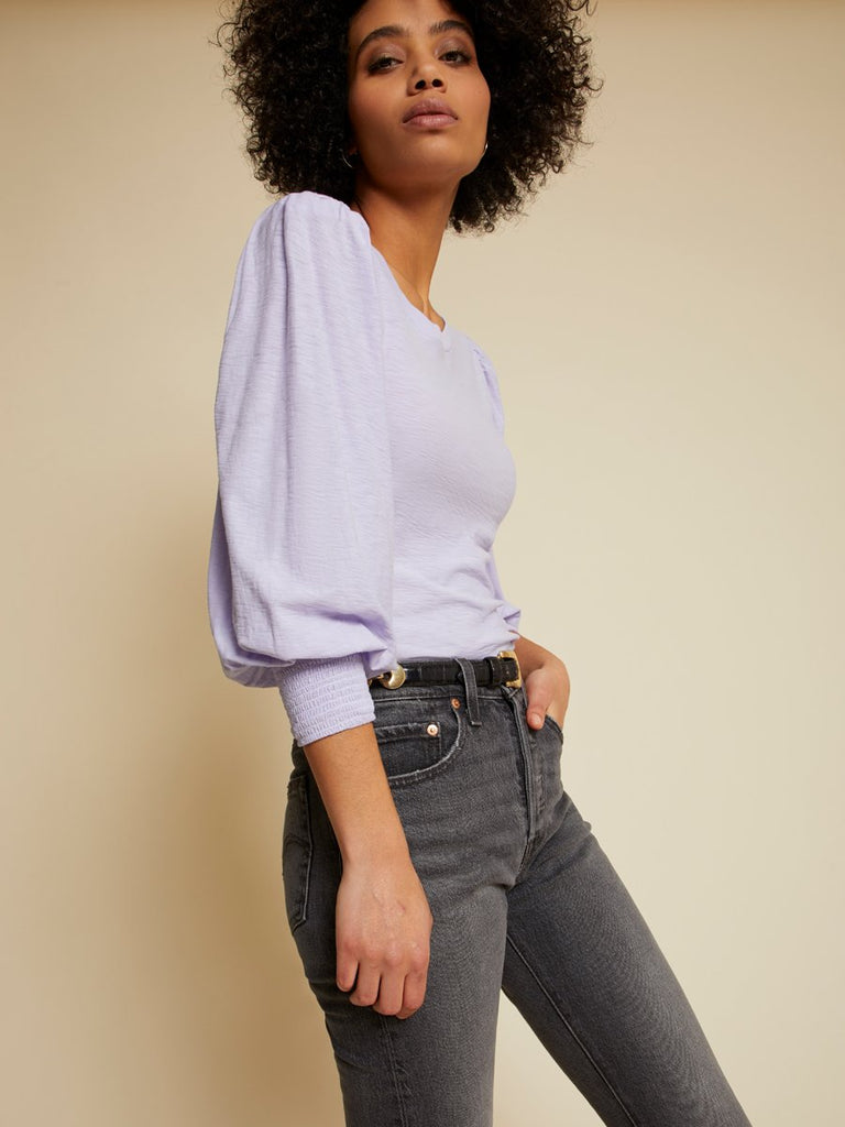 Nation LTD Loren Tee in Violet Whisper