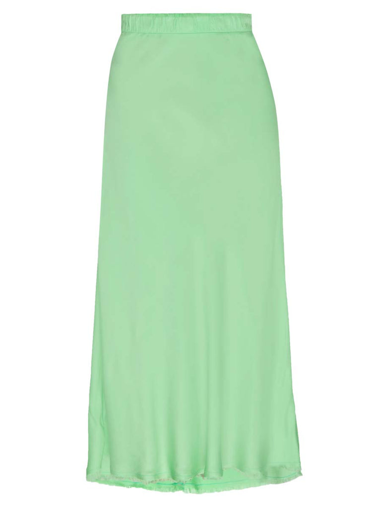 Nation LTD Mabel Skirt in Electric Lime
