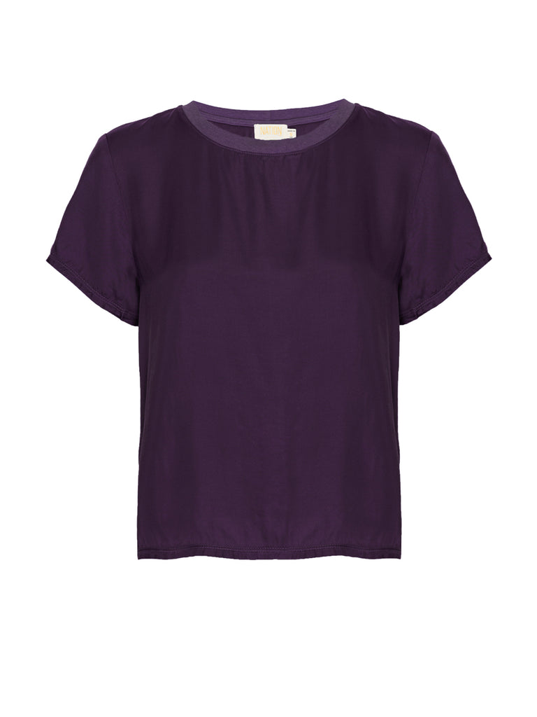 Nation LTD Marie Top in Amethyst