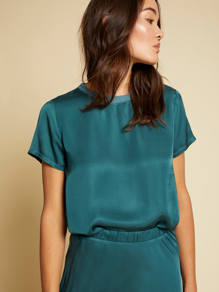 Nation LTD Marie Top in Teal