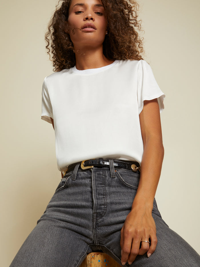 Nation LTD Marie Top in White
