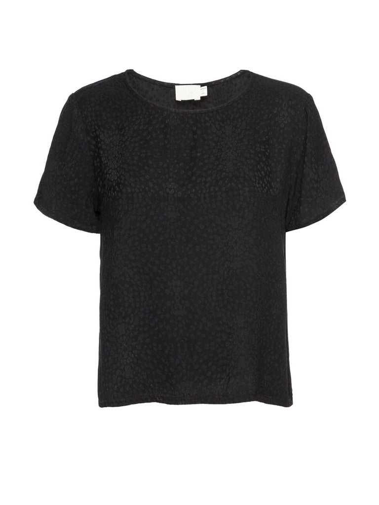 Nation LTD Marin Tee in Black