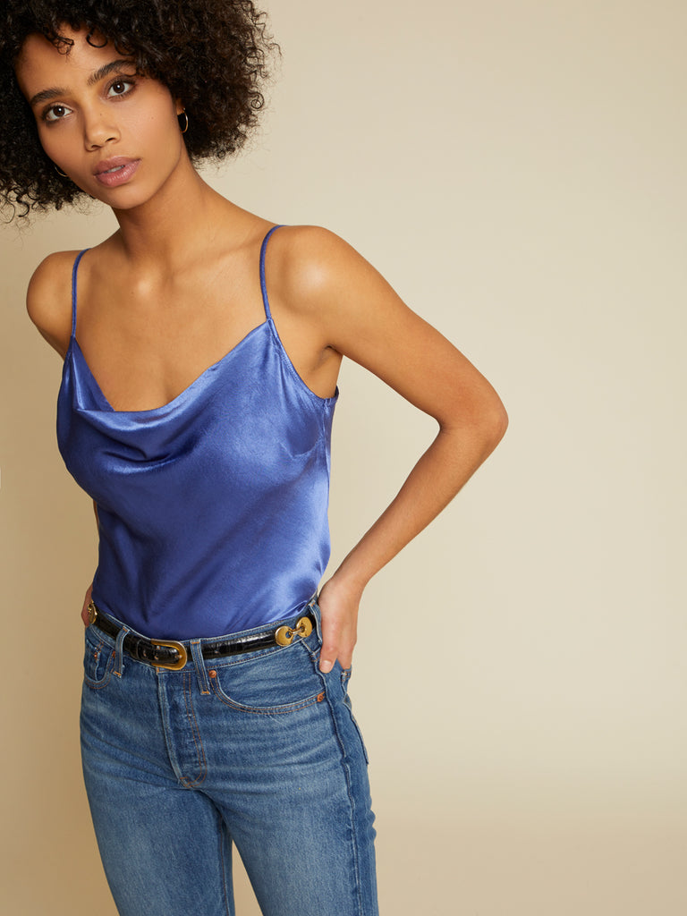 Nation LTD Maxine Cami in Periwinkle