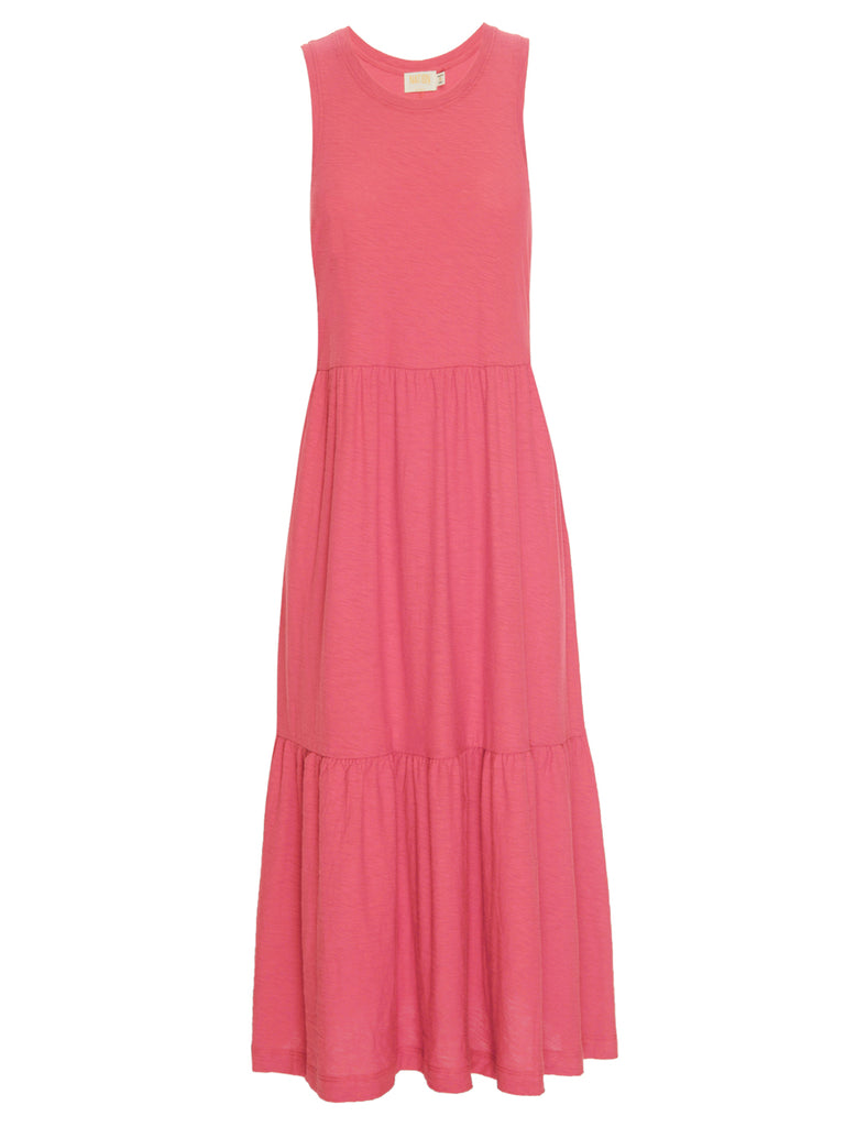 Nation LTD Melissa Dress in Flamingo