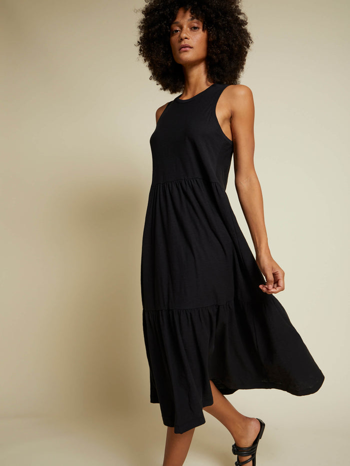 Nation LTD Melissa Dress in Jet Black