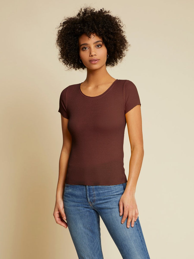 Nation LTD Miriam Top in Bordeux