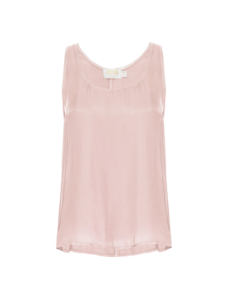 Nation LTD Naomi Tank in Touch of Pink
