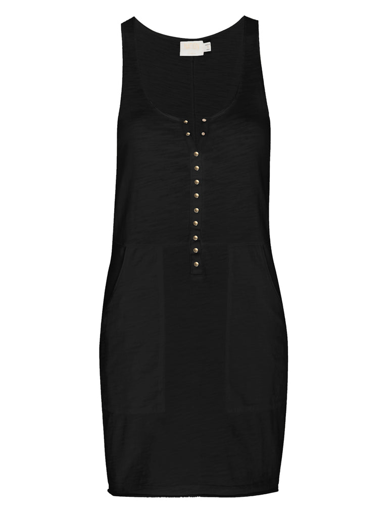 Nation LTD Neda Dress in Jet Black