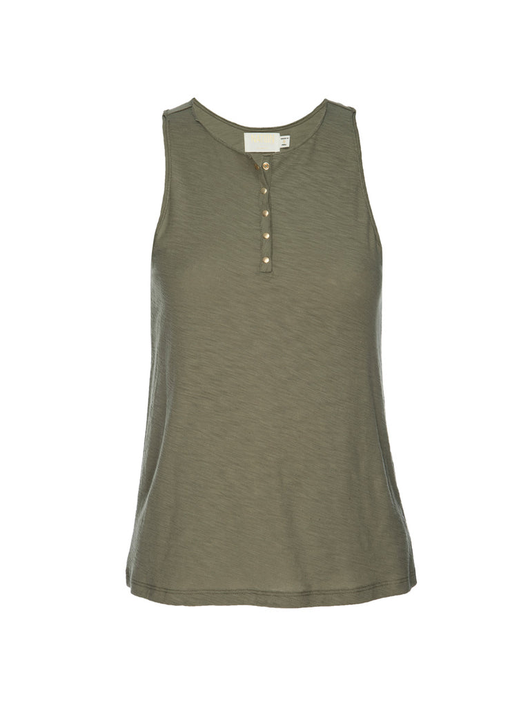Nation LTD Nicolette Tank in Eucalyptus