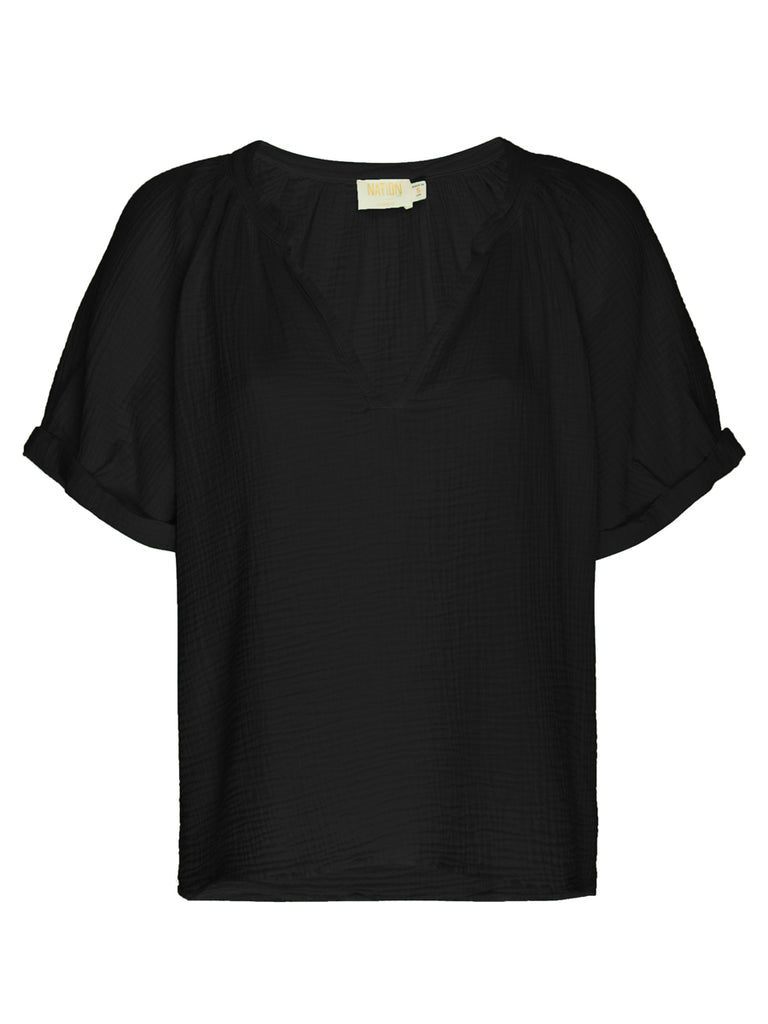 Nation LTD Odette Top in Black