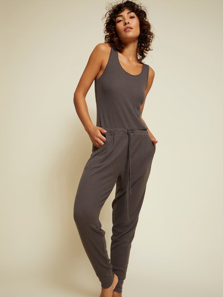 Nation LTD Palisades Jumpsuit in Sparrow