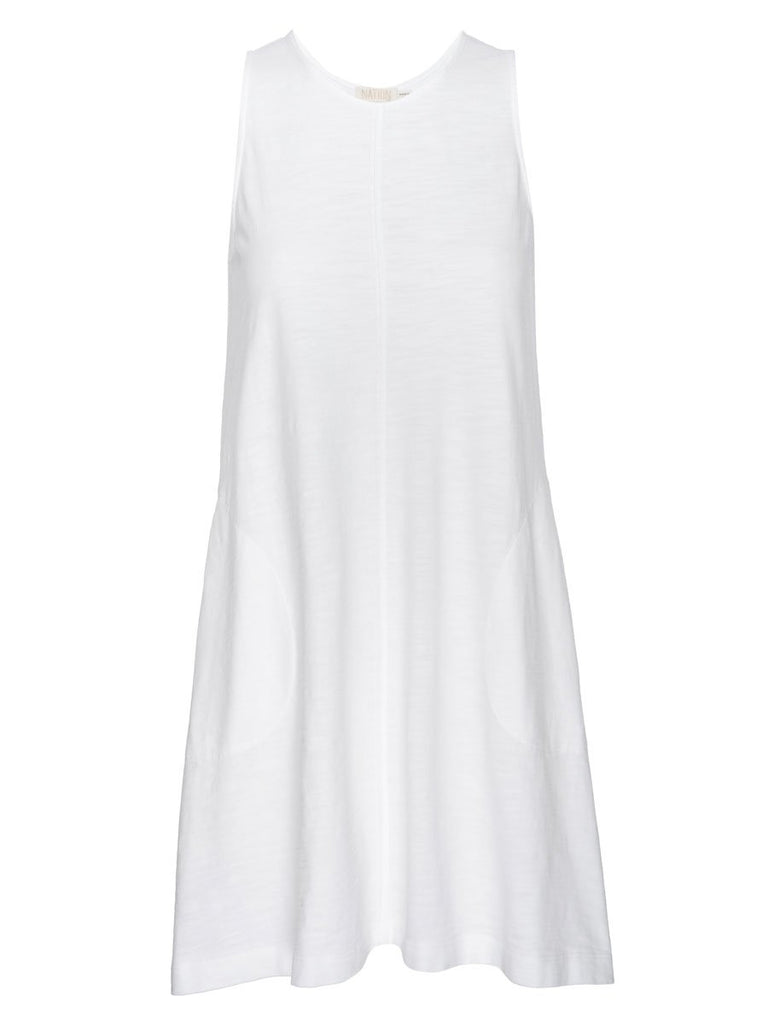 Nation LTD Phoebe Dress in Optic White