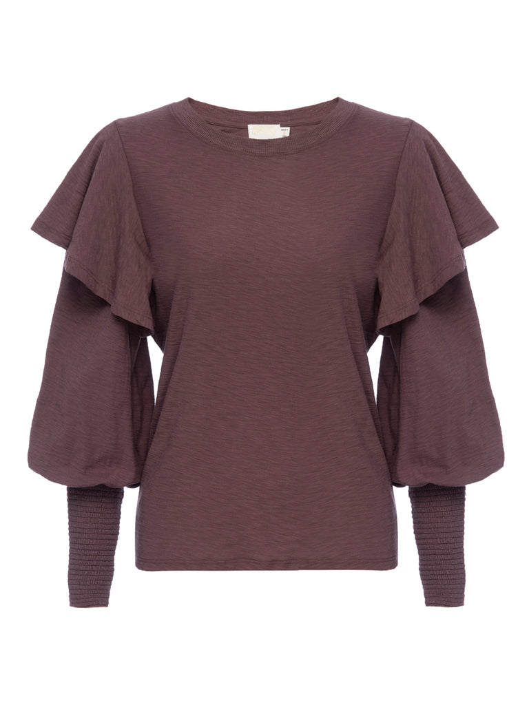 Nation LTD Reeva Long Sleeve in Desert Mauve