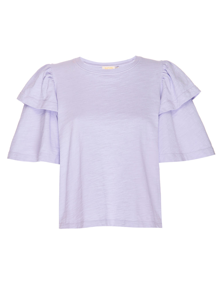 Nation LTD Regina Top in Violet Whisper