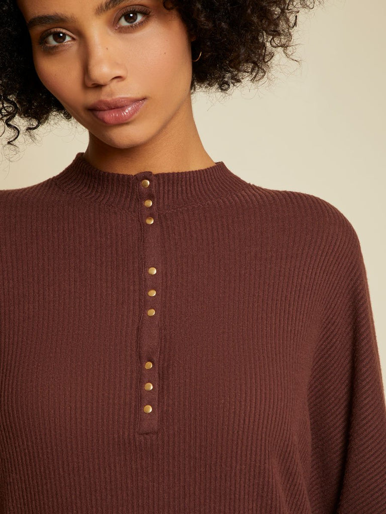 Nation LTD Roux Top in Bordeux