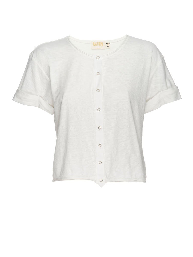 Nation LTD Rowen Henley Off White