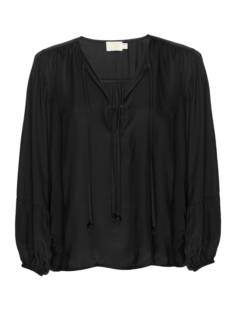 Nation LTD Sandra Blouse in Black