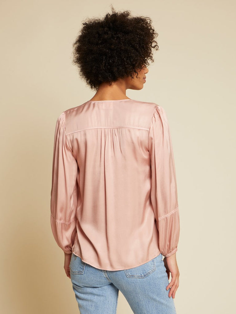 Nation LTD Sandra Blouse in Cheeky