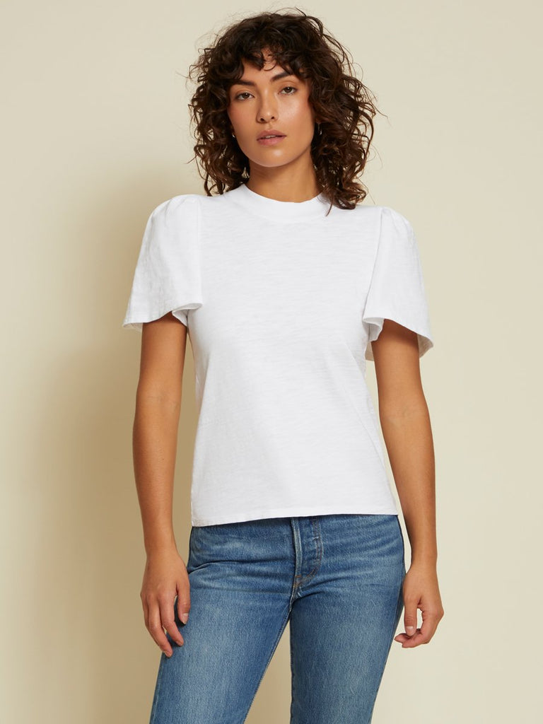Nation LTD Savanna Top in Optic White