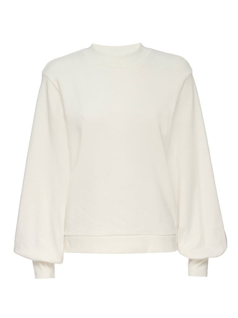 Nation LTD Suky Sweatshirt in Off White