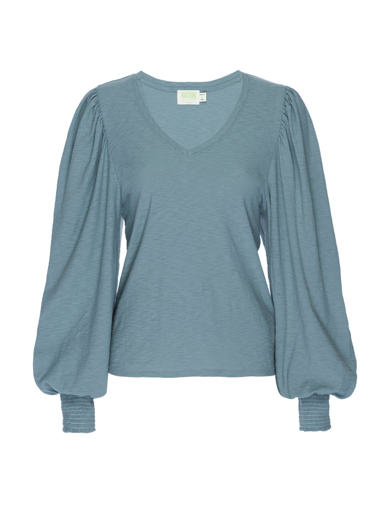 Nation LTD Tabitha Long Sleeve in Open Air
