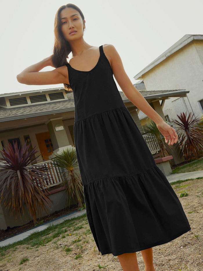 Nation LTD Tamber Dress in Jet Black